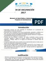 Plan de Vacunación 2017-Presentación