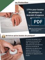 Prix Boutons de panique & bracelets d'urgence pour aînés