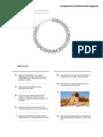 Imprimir Rosco Civilización Egipcia. Historia. Clau Al - Educap