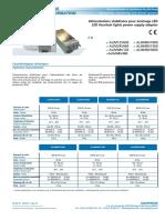 B 03 095 01 ALIM Alimentations Stabilisées Pour Éclairage LED