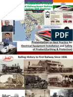 Presentation Indian Railway Electrical and S&T-1
