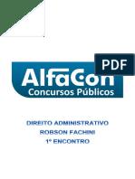 Alfacon Anderson Basico Para Concursos Nivel Superior Direito Administrativo II Professor Alfacon 1o Enc 20140729071730