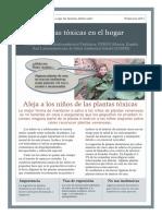 Plantas Tóxicas en El Hogar