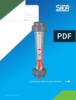 DS Variable Area Flow Meters