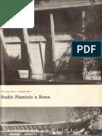 Articolo sullo Stadio Flaminio di Pier Luigi e Antonio Nervi, Casabella, 1960