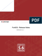 Fortios v5.6.1 Release Notes