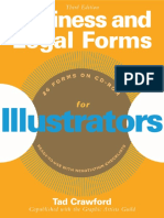 Tad Crawford Business and Legal Forms for Illustrators