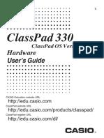 calculadora classpad CP330 Ver306 Hard E