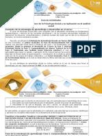 Guia de Actividades y Rubrica de Evaluacion Fase 2 Comprendiendo Los Marcos Teoricos de La Psicologia Social