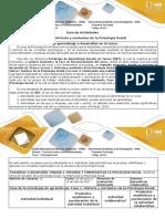 Guia de Actividades y Rubrica de Evaluacion Fase 1 Historia y Corrientes de La Psicologia Social