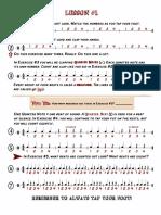 Learning Rhythms - Page 1