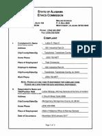 Ethics Complaint 8-9-17