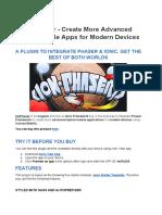 IonPhaser Doc v1.0