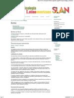 Revista Online Neuropsicologia Latinoamericana Slan