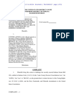 Indiana NAACP v. Lawson – Complaint as Filed