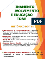 Treinamento,Desenvolvimento e Educação