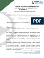 Resumo Expandido IV Conpet Civil - Análise e Comparação de Tensões Entre Um Tabuleiro de Ponte Com Seção Reta e Um Com Curvatura Transversal
