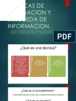Tecnicas de Indagacion y Busuqeda de Informacion Actividad #3 Planear Actividades