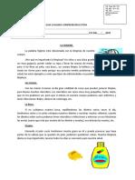 GUUIA DE COMPRENSION LECTORA EVALUACION  4to BASICO.doc