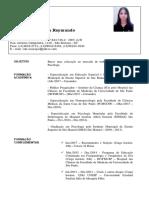 Curriculum Vitae - Caroline Raymundo Atualizado