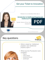 EU IPR Helpdesk Introduction to IP