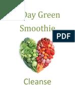 7 Day Green Smoothie Detox