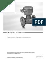 Krohne Optiflux5000fl Manual