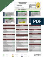 Calendario Ago-dic 2017