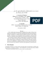 Uma Experiência de Aprendizado Colaborativo No Curso de Física Da UFJF