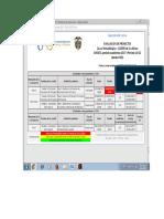 Agenda de Evaluacion de Proyecto