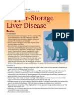 Copper-storage Liver Disease