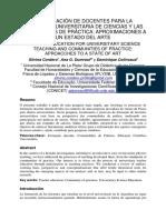 Cordero; Colinvaux - La Formacion de Docentes
