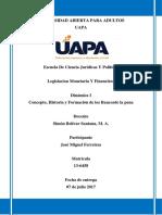 Legislacion Monetaria Y Financiera Tarea 1