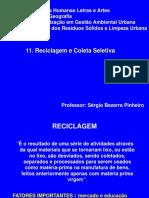 Reciclagem e Coleta Seletiva