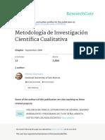 Metodologia de Investigacion Cualitativa Quintana