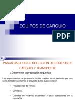 Clase_03 Seleccion de equipo Carguio y Transporte.ppt
