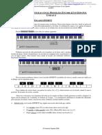 Edición de Partituras Con El Programa Encore 4.5 en Español Unidad 4