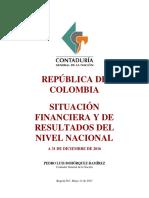 SITUACIÓN+FINANCIERA+Y+DE+RESULTADOS+DEL+NIVEL+NACIONAL+2016