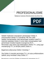 K2 - Professionalisme Blok DMS 2014