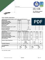 Datasheet A1941 Y C5198