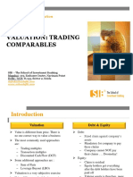 Notes Trading Comparables