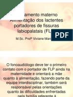 Aleitamento Materno Alimenta o Dos Lactentes Portadores de Fissuras 2013