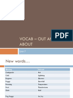 Vocab - Out and About