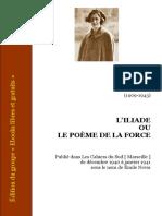 Simone Weil - L'Iliade ou le poème de la force.pdf
