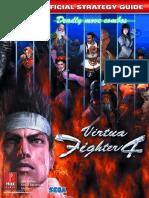 Virtua Fighter 4 Prima Official EGuide