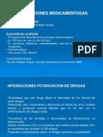 5 INTERACCIONES MEDICAMENTOSAS