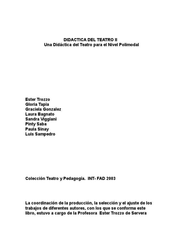 Didactica Del Teatro II