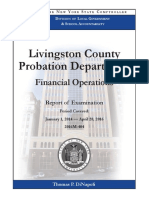 Audit of Livingston County Probation Department
