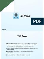 Intercom Pitch Deck