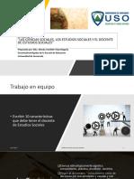 Unidad 1 Las Ciencias Sociales Los Estudios Sociales y El Docente